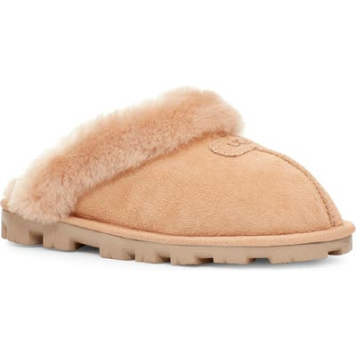 UGG Genuine Shearling Slipper, Beige