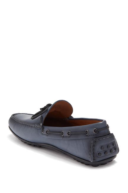 Image of MORAL CODE Ira Leather Driving Loafer