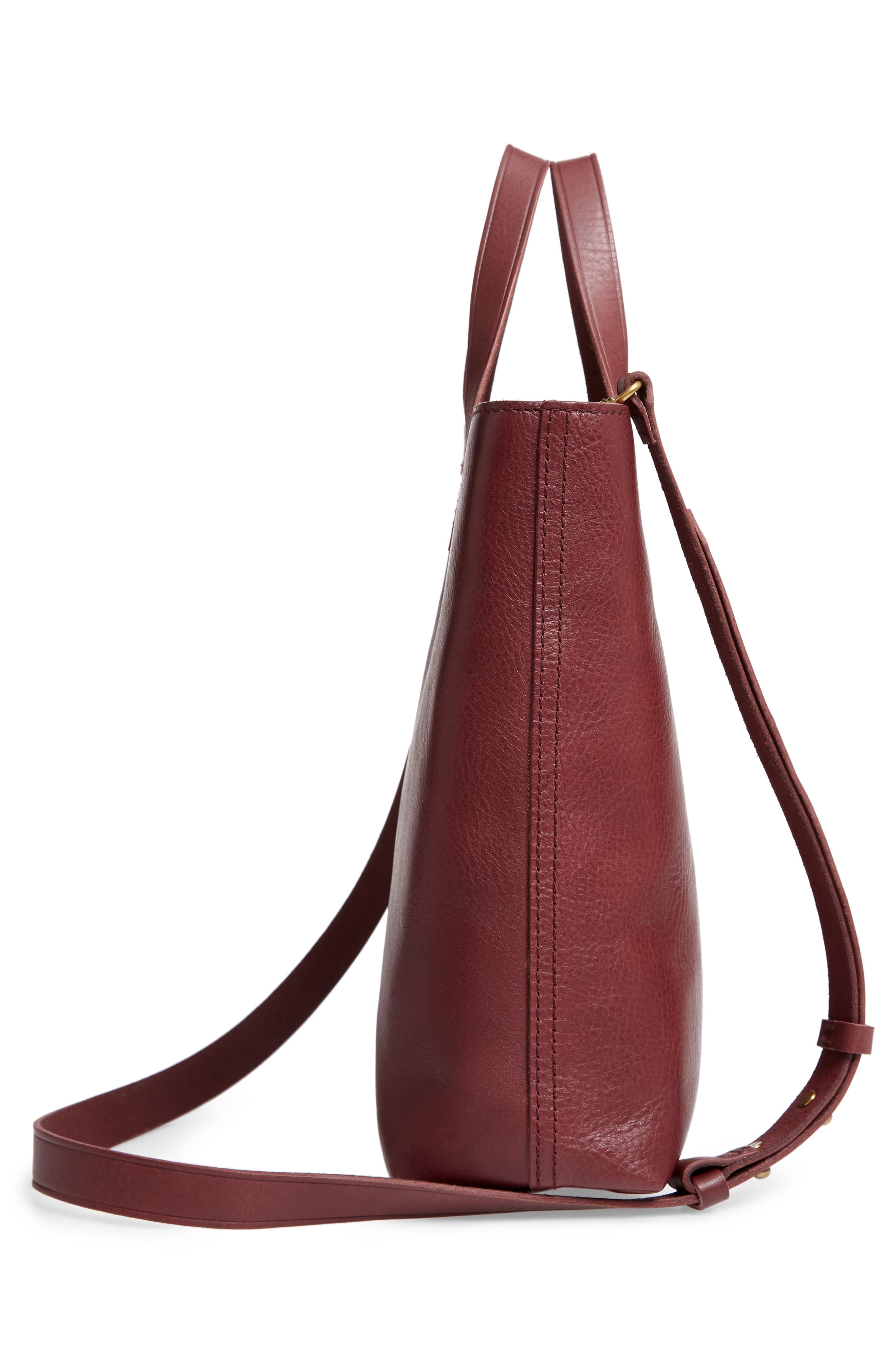 ,                             Small Transport Leather Crossbody Tote,                             Alternate thumbnail 30, color,                             930