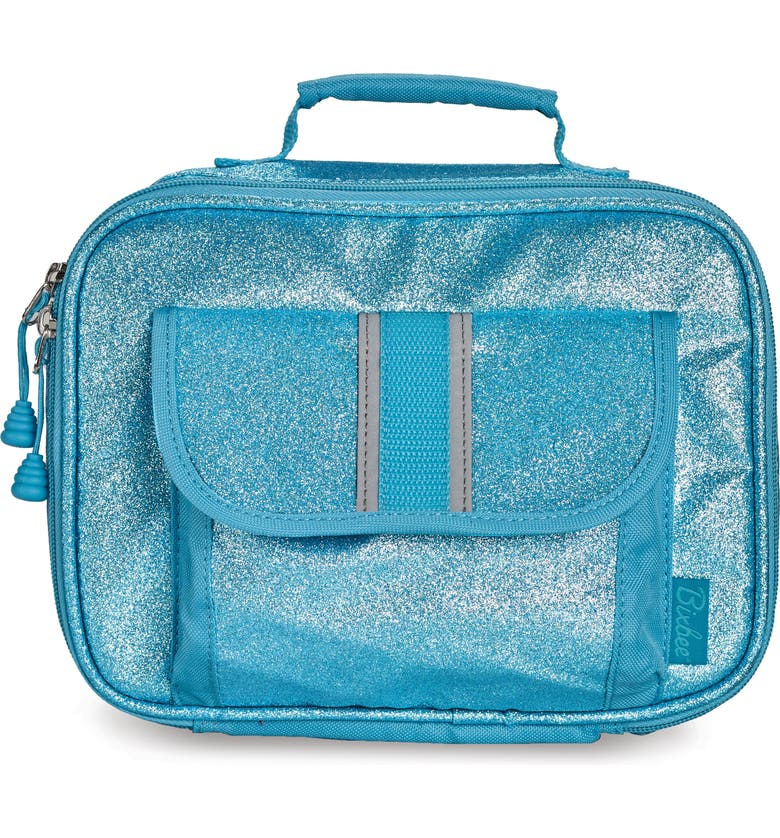 BIXBEE Sparkalicious Water Resistant Lunch Box, Main, color, TURQUOISE