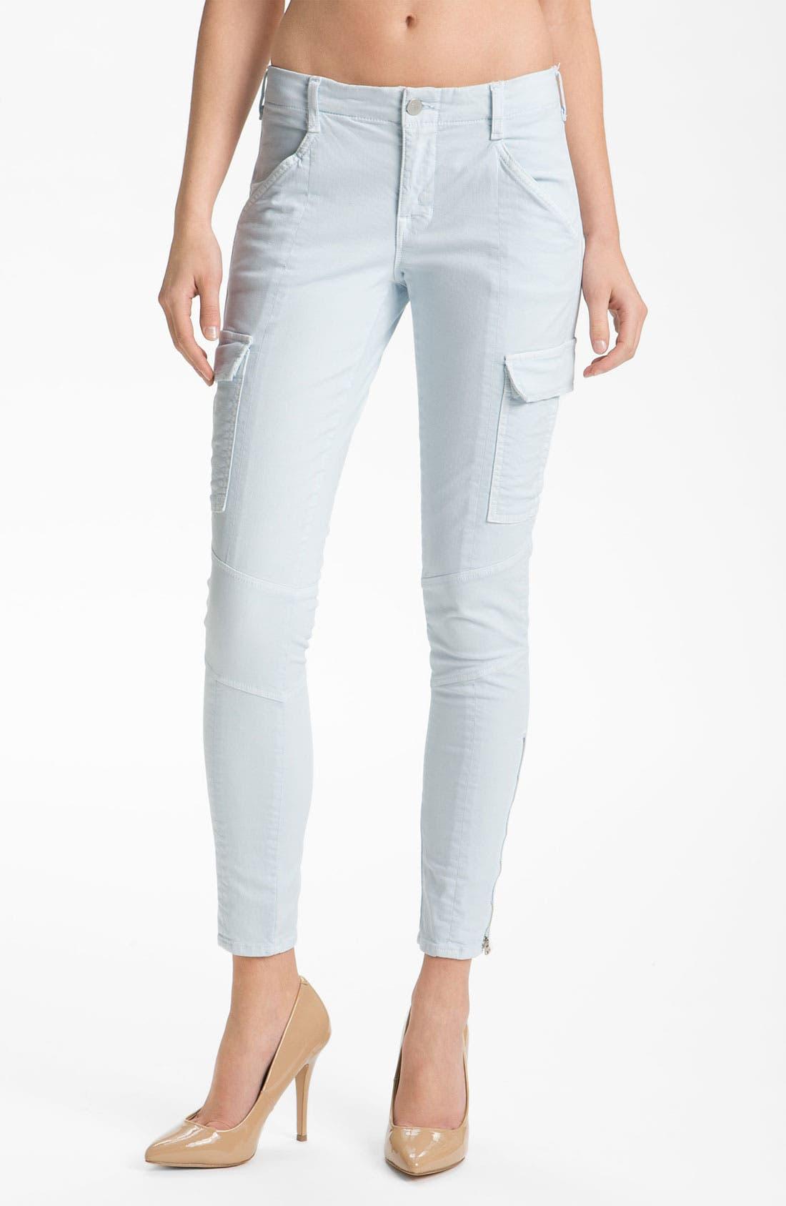 ,                             'Houlihan' Skinny Stretch Cotton Cargo Pants,                             Main thumbnail 14, color,                             452