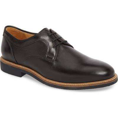 Johnston & Murphy Barlow Plain Toe Derby, Black