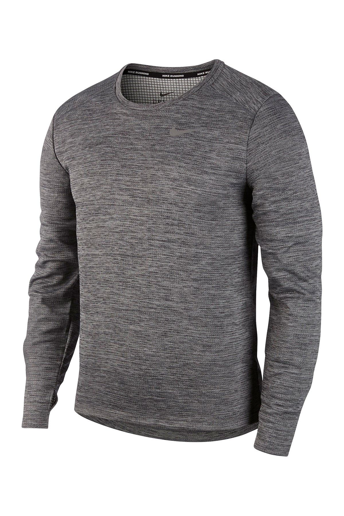 Image of Nike Pacer Dri-FIT Long Sleeve Running T-Shirt