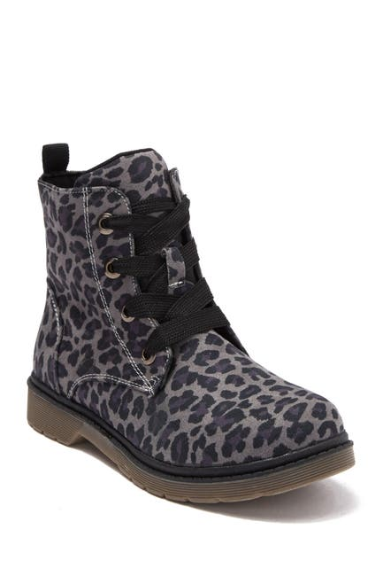 Image of SPROX Rhiana Leopard Print Boot
