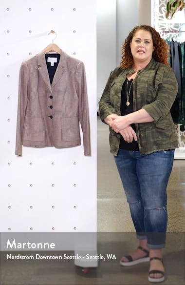 Check Patch Pocket Blazer, sales video thumbnail