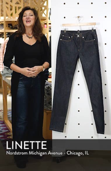 Petite New Standard Stretch Skinny Fit Jeans, sales video thumbnail