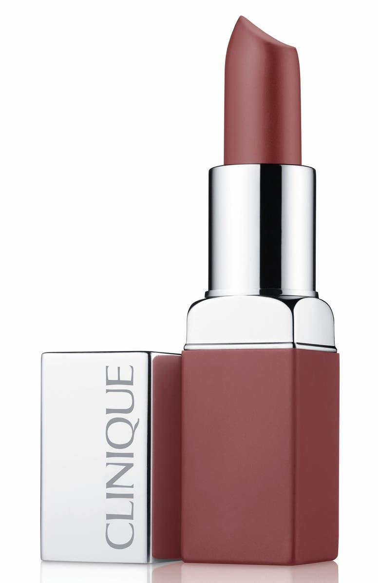 CLINIQUE Pop Matte Lip Color + Primer, Main, color, BEACH POP