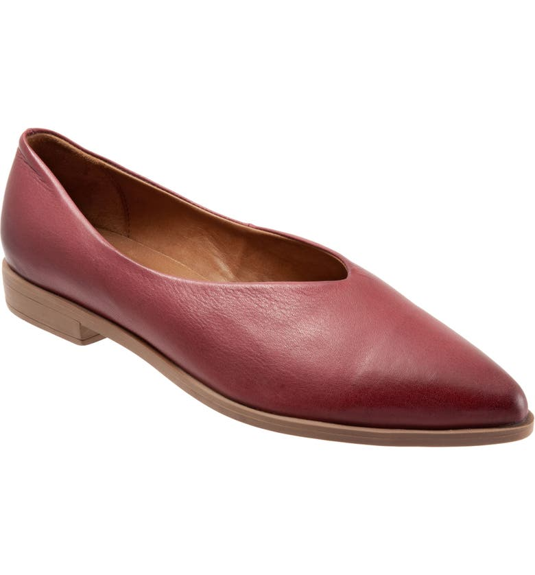 BUENO Billie Flat, Main, color, PLUM LEATHER