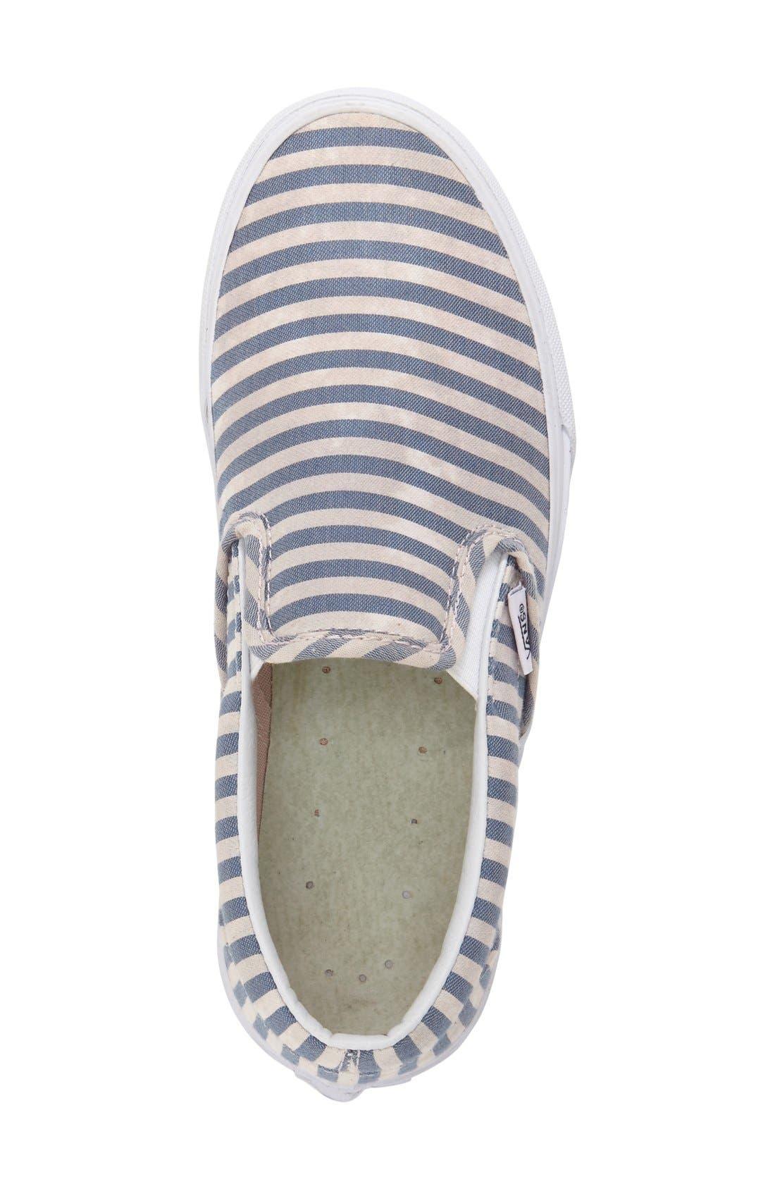 ,                             Classic Slip-On Sneaker,                             Alternate thumbnail 358, color,                             410