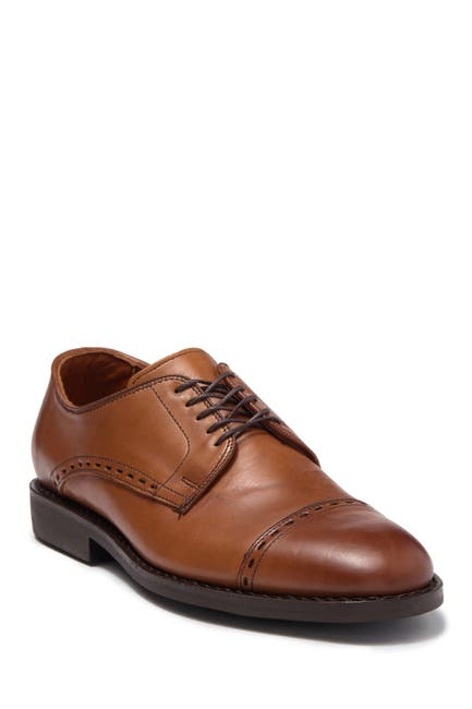 Image of Allen Edmonds Broadview Cap Toe Leather Derby - Wide Width Available