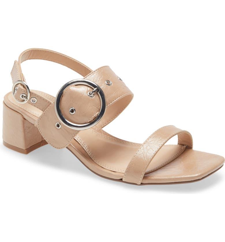 TOPSHOP Dakota Slingback Sandal, Main, color, NUDE