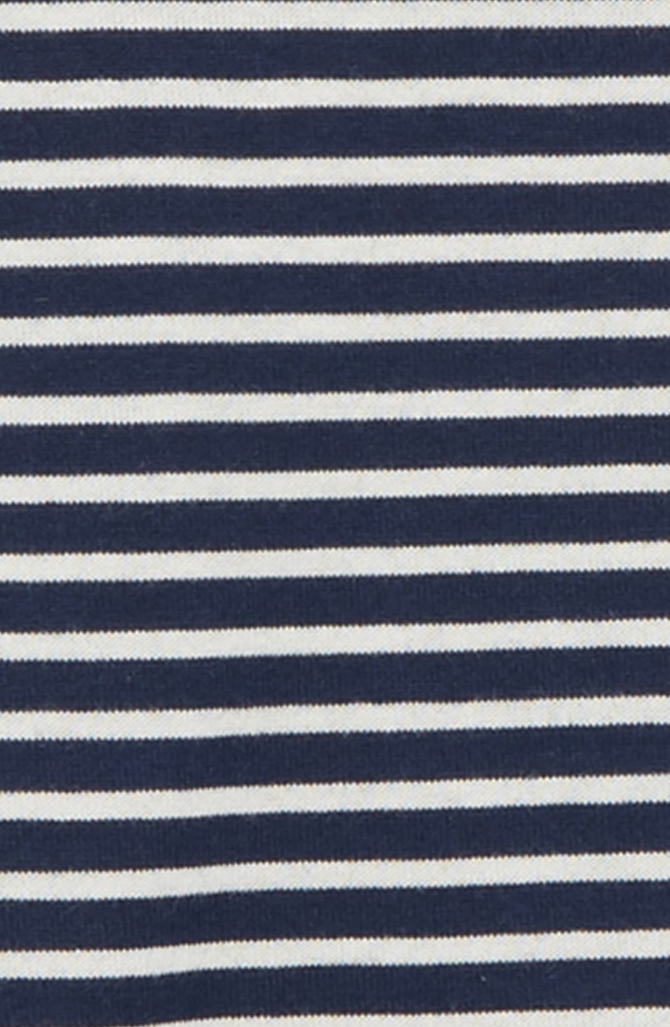 ,                             Stripe Long Sleeve T-Shirt,                             Alternate thumbnail 2, color,                             NAVY