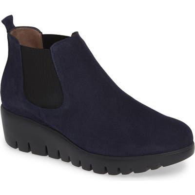 Wonders Slip-On Chelsea Boot - Blue