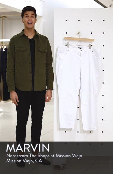 Stretch Organic Cotton Skinny Jeans, sales video thumbnail