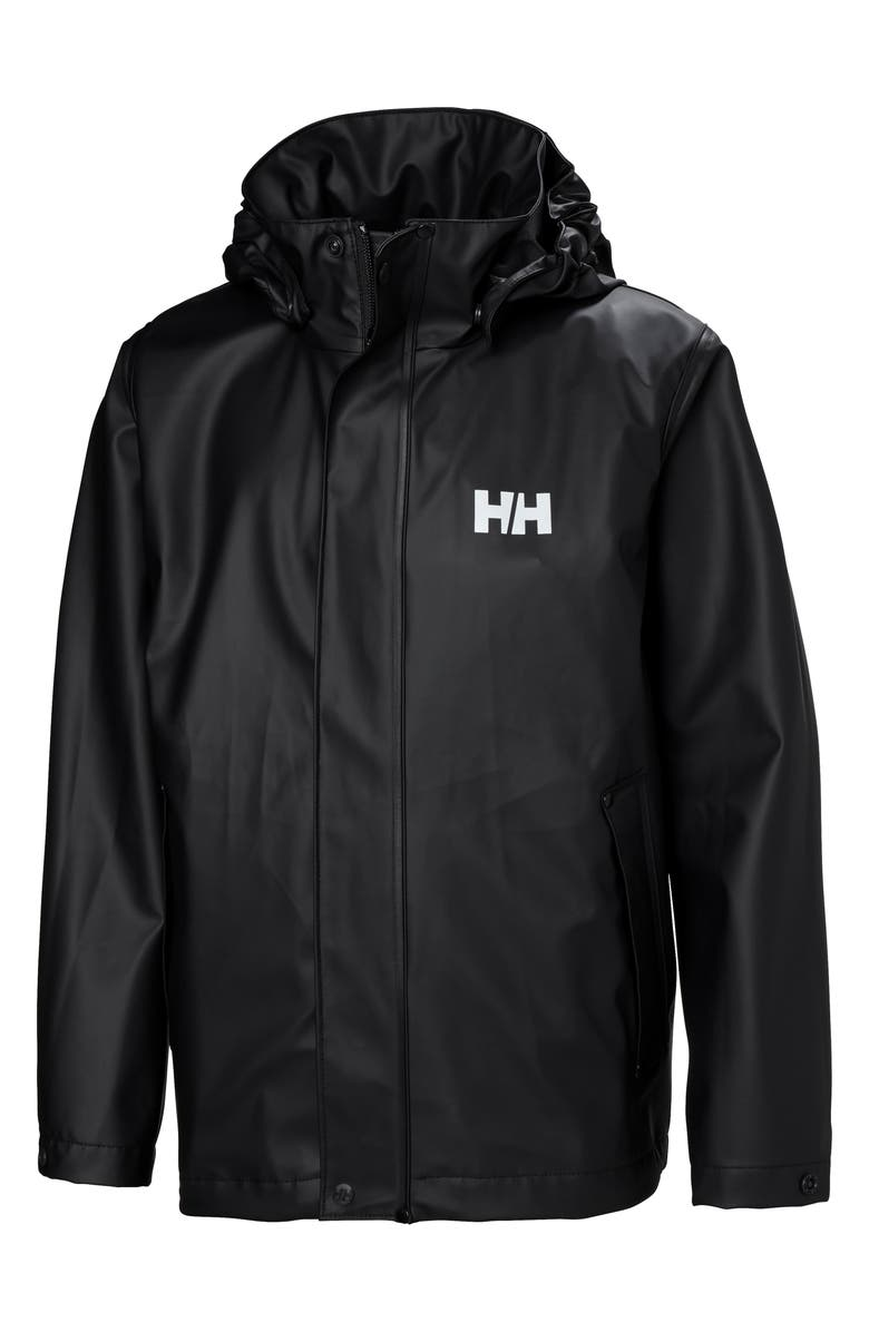 HELLY HANSEN Moss Waterproof Rain Jacket, Main, color, 003