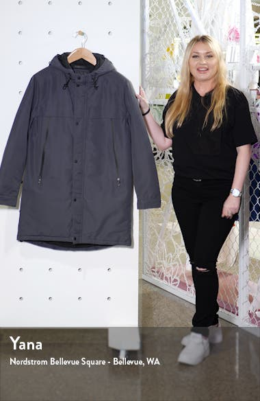Cagney Water Resistant Hooded Coat, sales video thumbnail