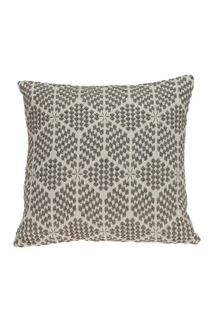 Image of Parkland Collection Esther Transitional Beige Throw Pillow