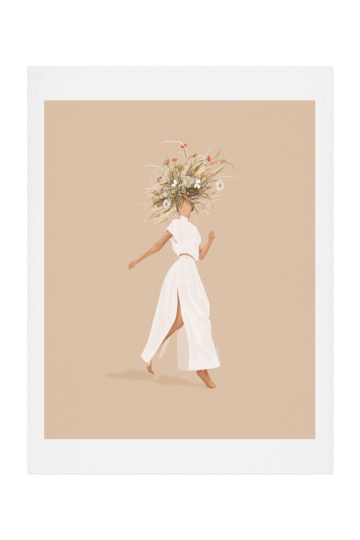 Image of Deny Designs Iveta Abolina Estelle Flora Art Print