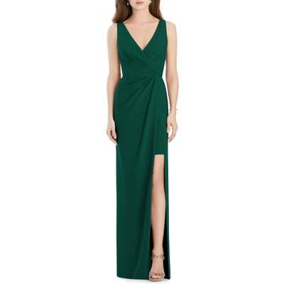 Jenny Packham Crepe Column Gown, 8 (similar to 1) - Green