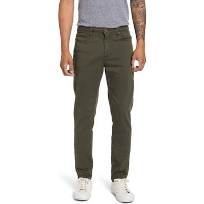 Monfrere Deniro Slim Straight Leg Jeans, Green