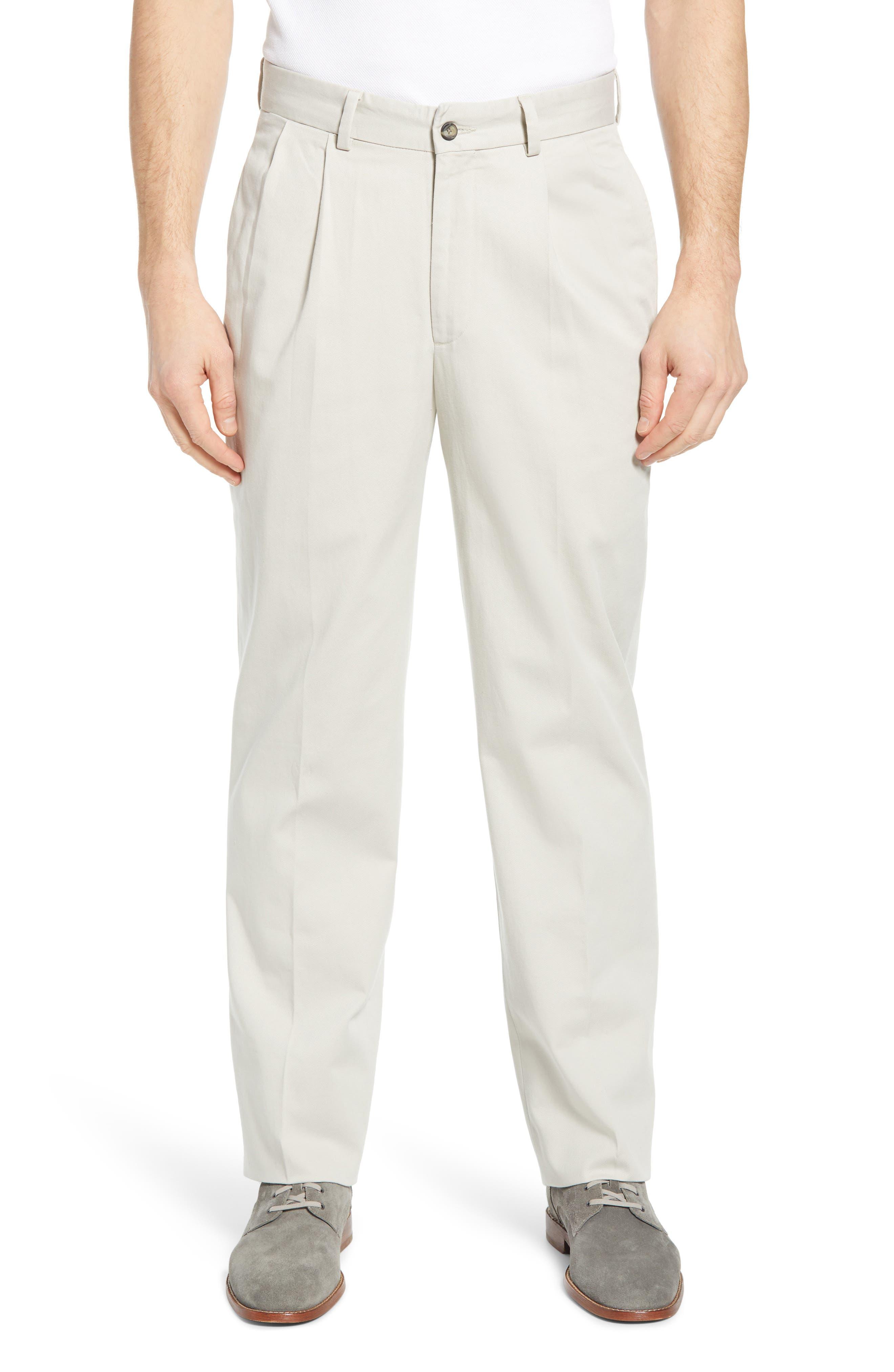 Charleston Pleated Chino Pants
