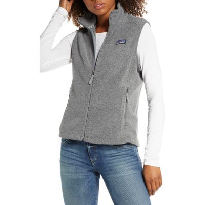 Patagonia Classic Synchilla Recycled Fleece Vest, Grey