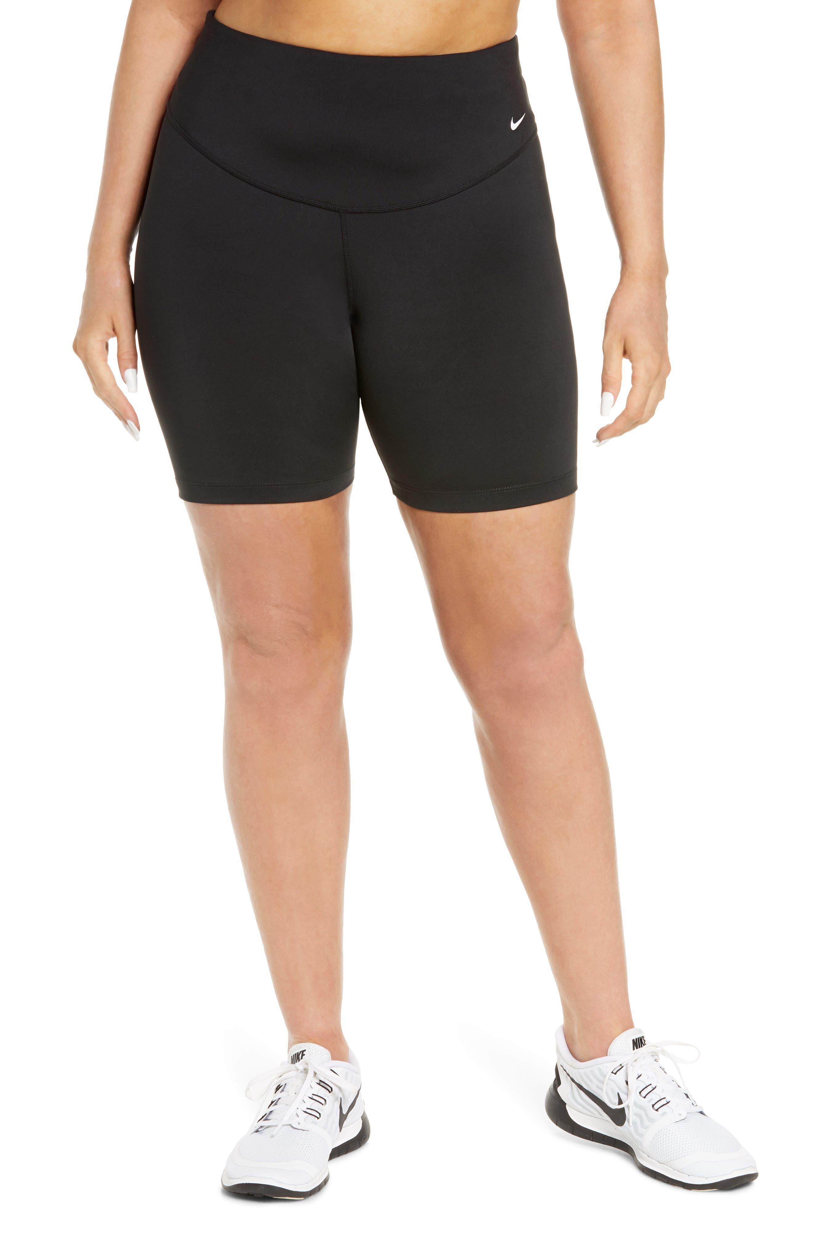 Plus Women's Nike One Mid-Rise Shorts