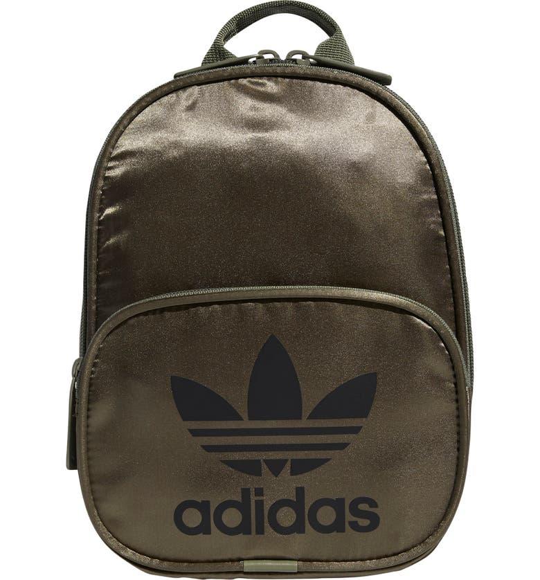 ADIDAS ORIGINALS Santiago II Mini Backpack, Main, color, 310
