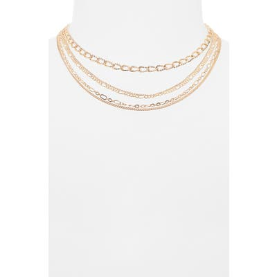 Bp. Set Of 5 Chain Link Necklaces