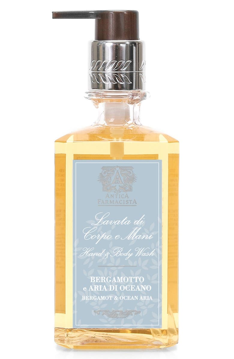 ANTICA FARMACISTA 'Bergamot & Ocean Aria' Hand Wash, Main, color, NO COLOR