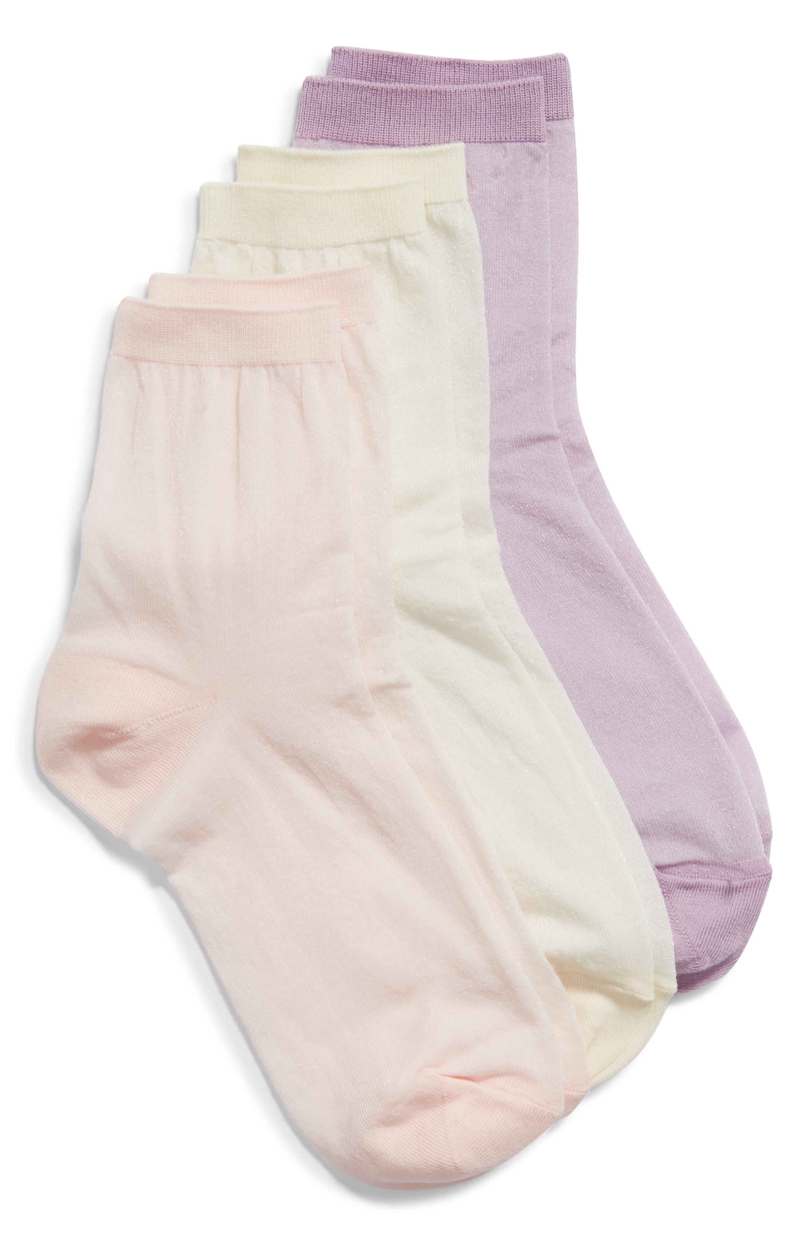 Nordstrom Favorite 3-Pack Ankle Socks | Nordstrom