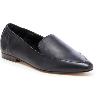 Sole Society Breck Pointy Toe Flat, Black