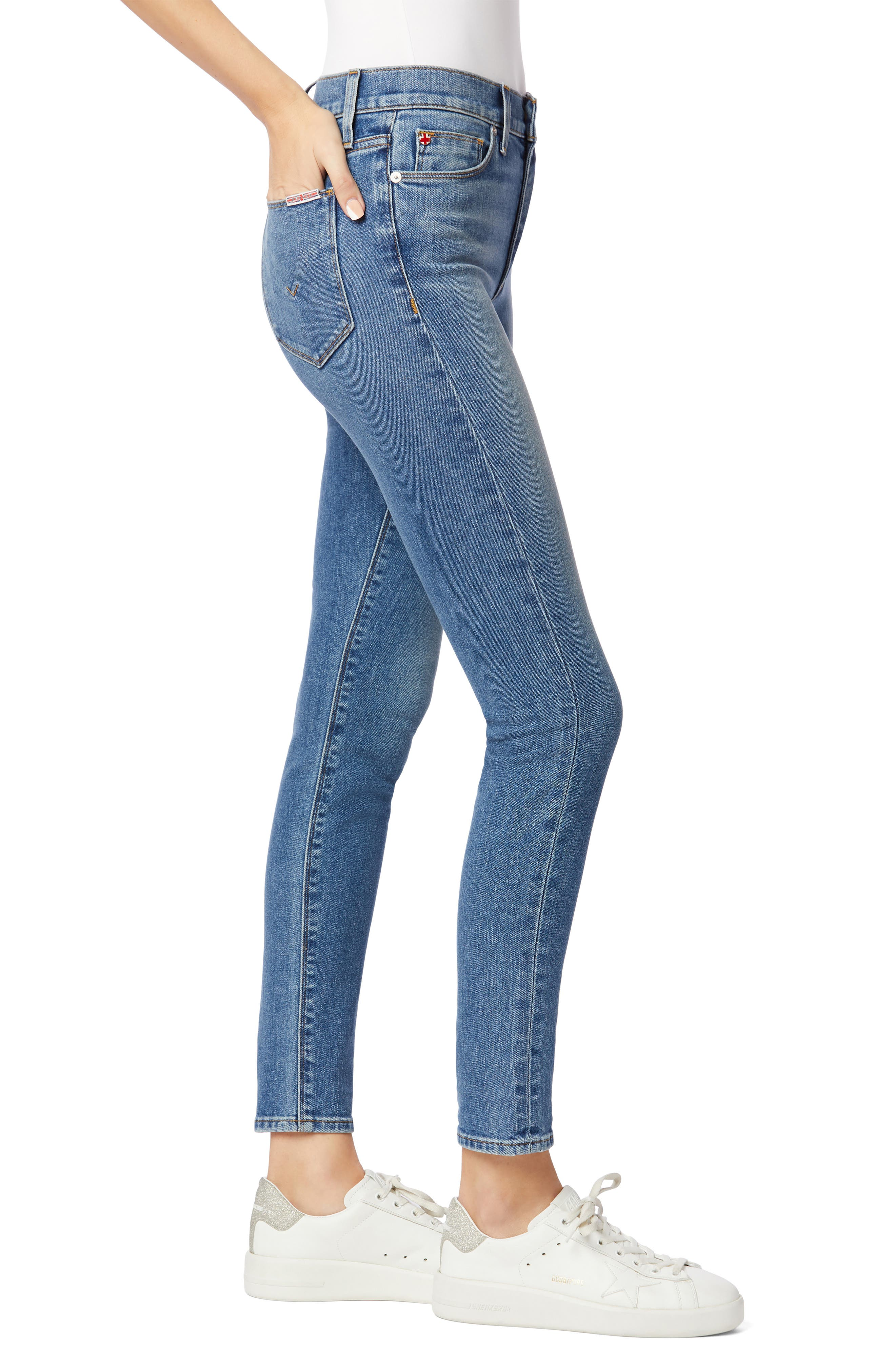 Image of HUDSON Jeans Blair High Rise Skinny Jeans