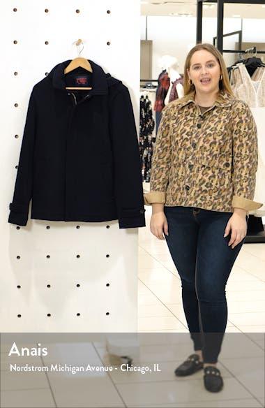 Wool Hooded Jacket, sales video thumbnail