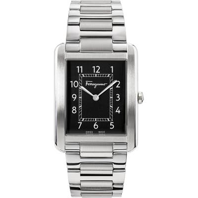 Salvatore Ferragamo Portrait Bracelet Watch, 31Mm X 41Mm