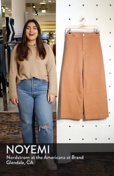 Cynthia Crop Wide Leg Jeans, sales video thumbnail