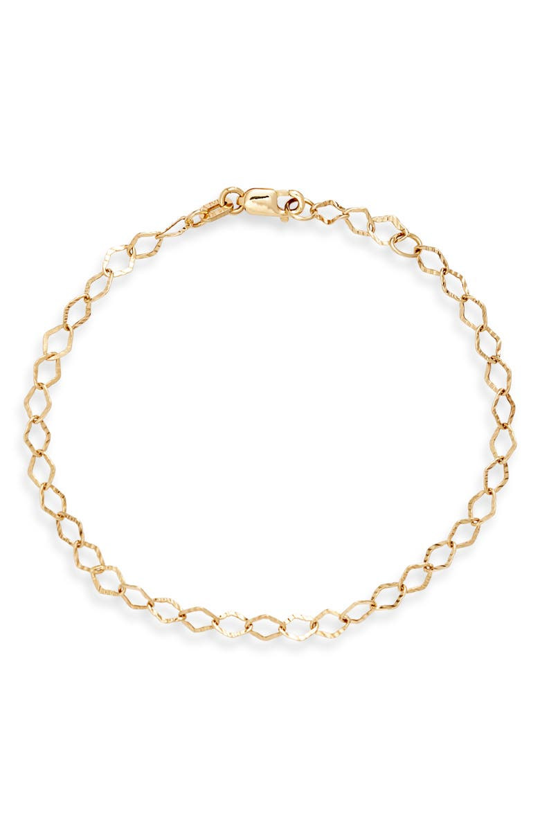 BONY LEVY Open Link Chain Bracelet, Main, color, YELLOW GOLD