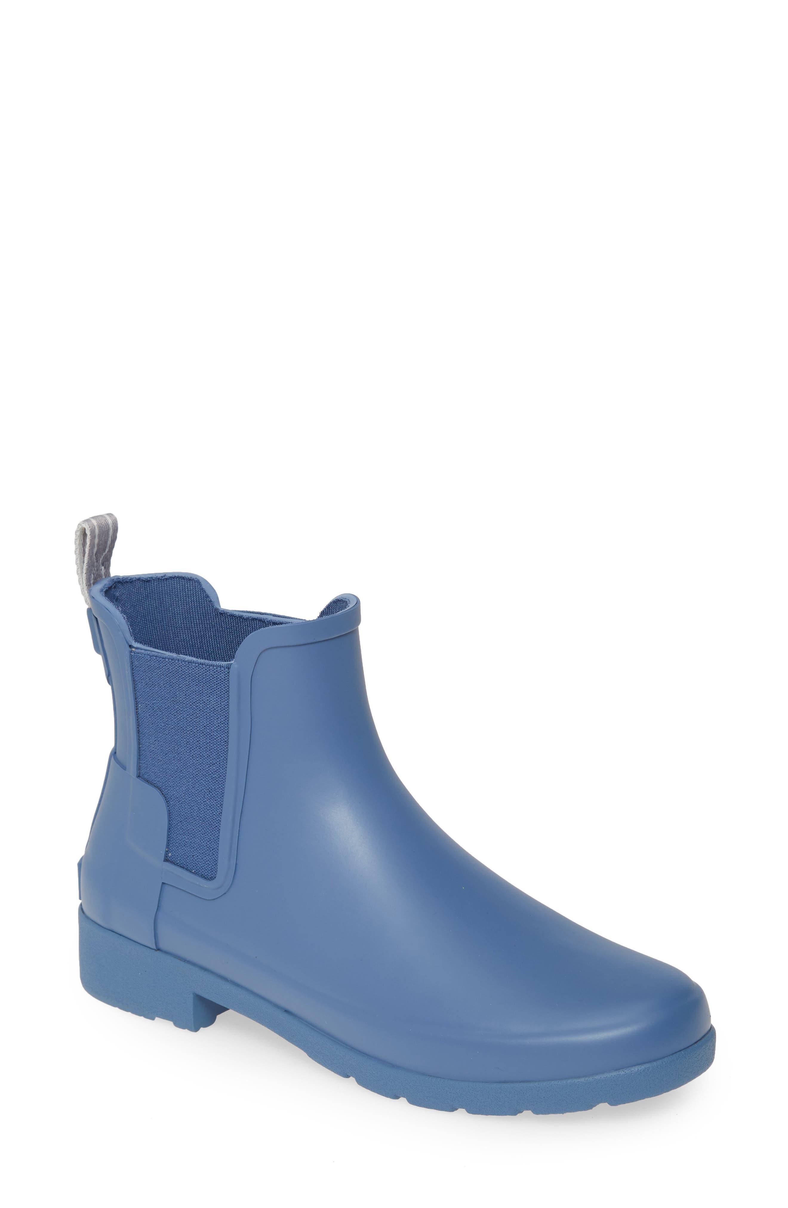 Hunter Refined Chelsea Boot, Blue