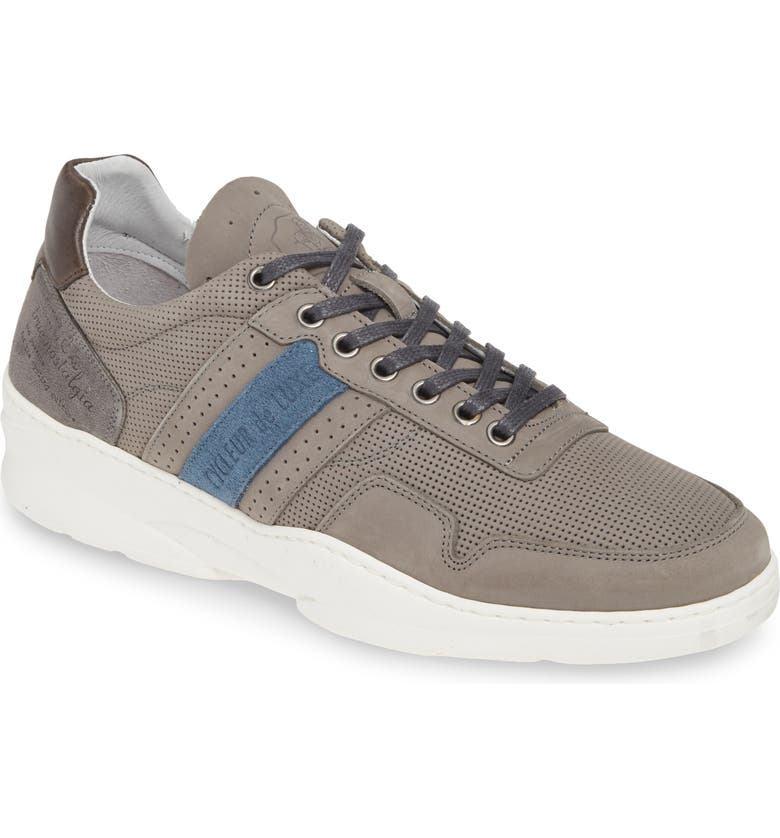 CYCLEUR DE LUXE Cleveland Sneaker, Main, color, LIGHT GREY/ NAVY