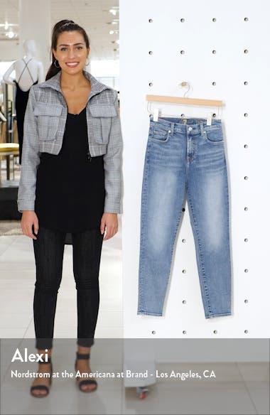 High Waist Slim Crop Jeans, sales video thumbnail