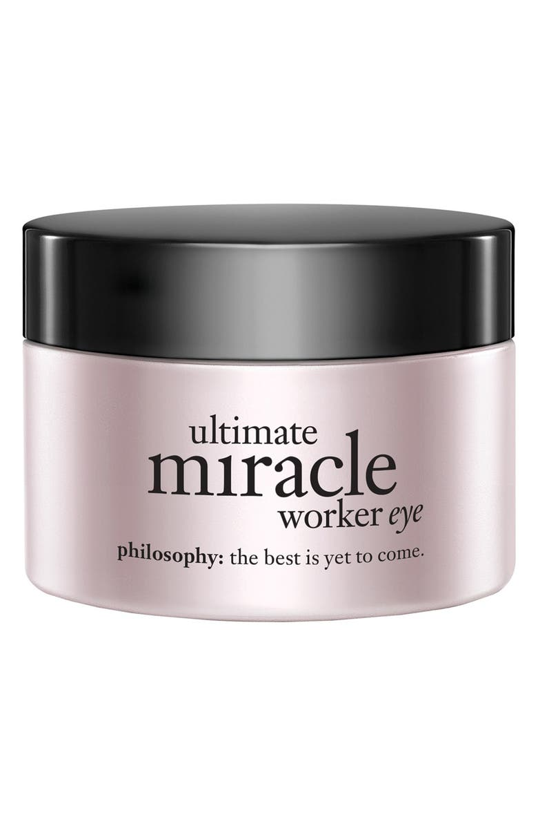 PHILOSOPHY ultimate miracle worker eye cream SPF 15, Main, color, NO COLOR