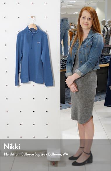 Heathered Half Zip Pullover, sales video thumbnail
