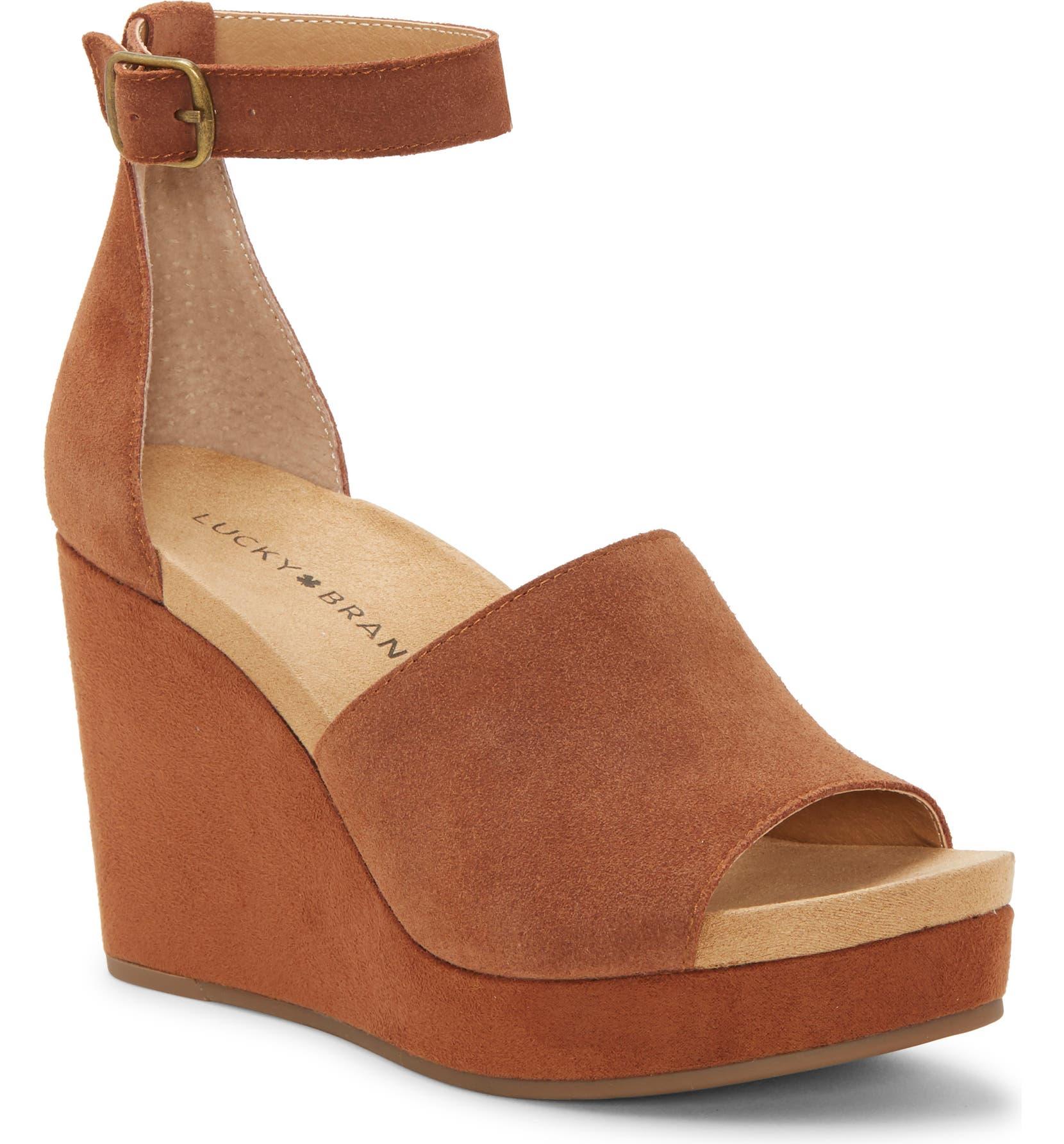 Yemisa Wedge Ankle Strap Sandal