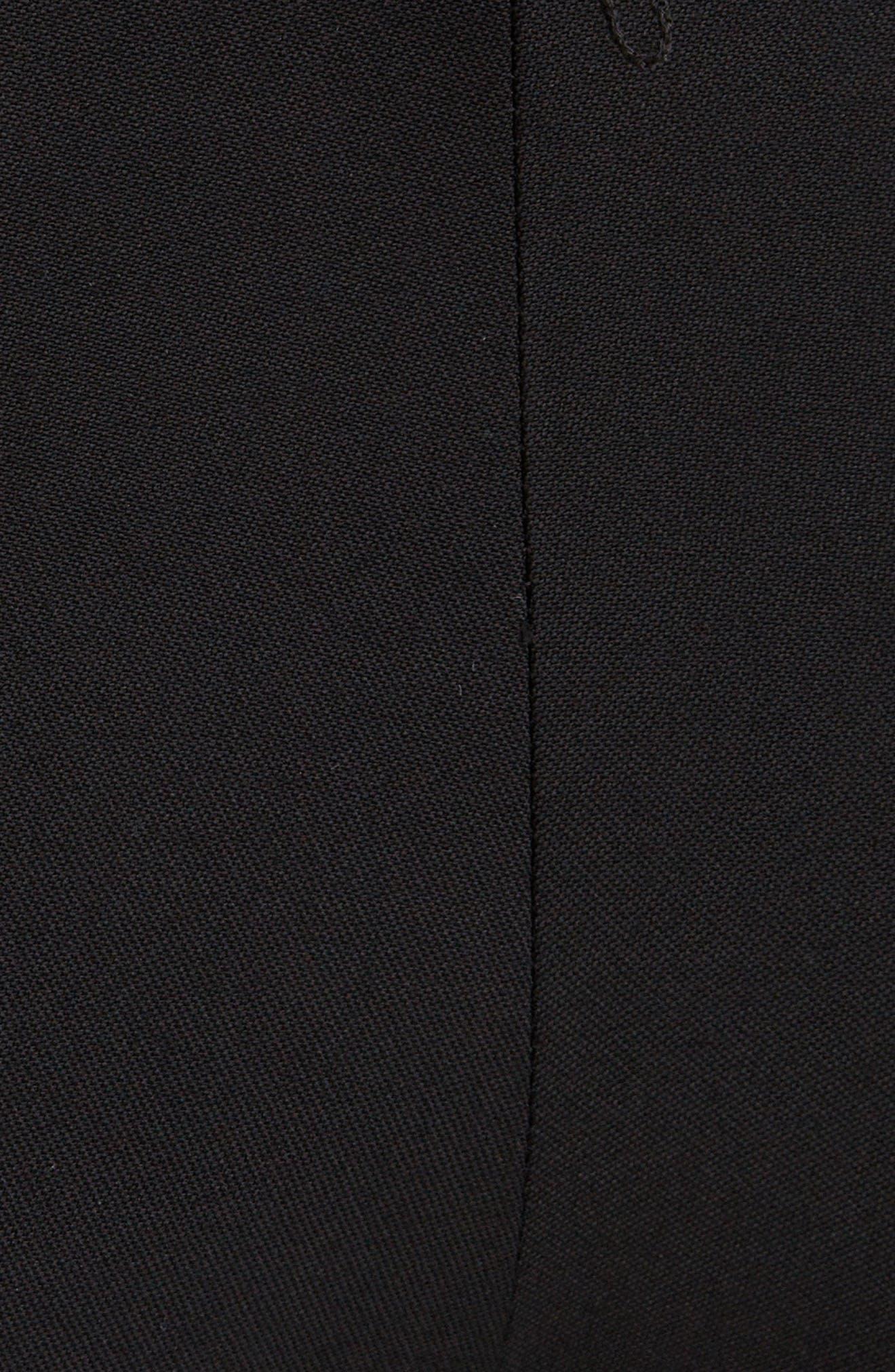 SAINT LAURENT Straight pants High Waist Pleated Wool Pants