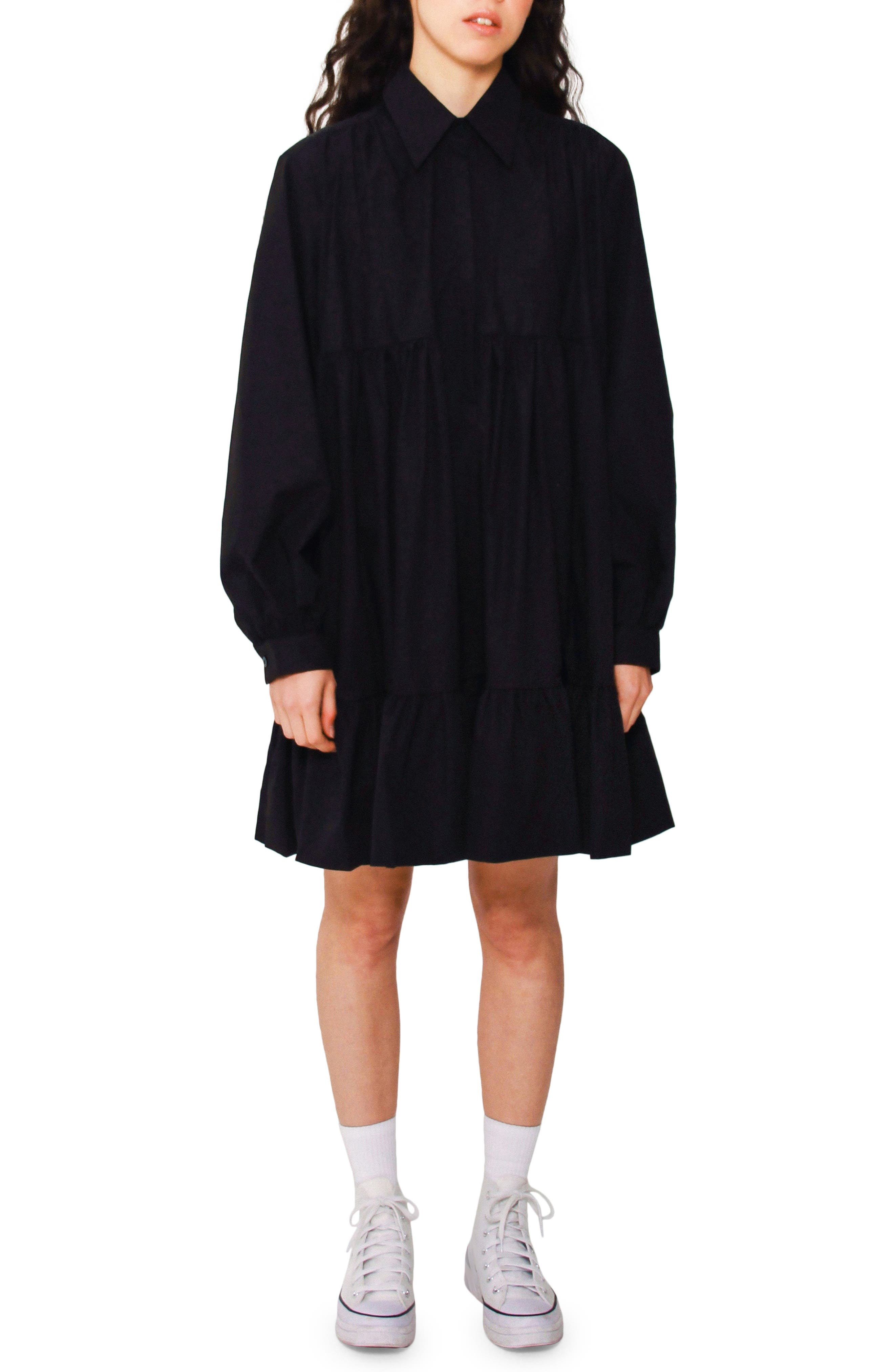 Lilly Long Sleeve Swing Dress