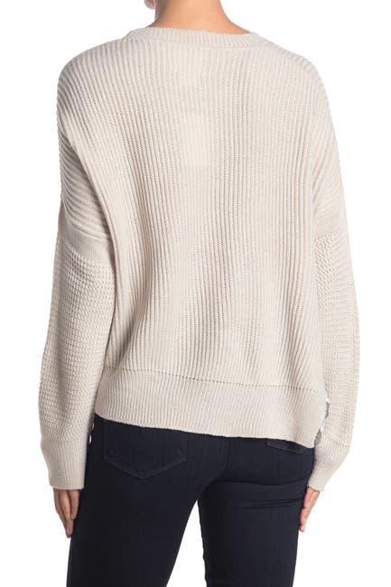 Image of LOVE LILI Asymmetrical Sweater