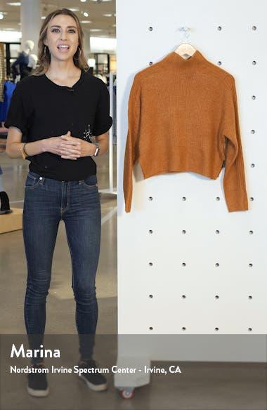 Funnel Neck Crop Sweater, sales video thumbnail