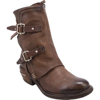 A.s.98 Irving Engineer Boot - Brown