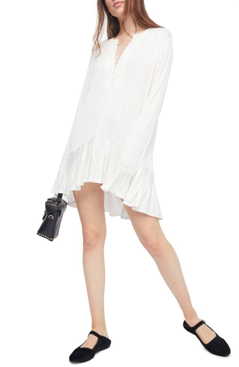 FREE PEOPLE Your Girl Tunic, Main, color, IVORY