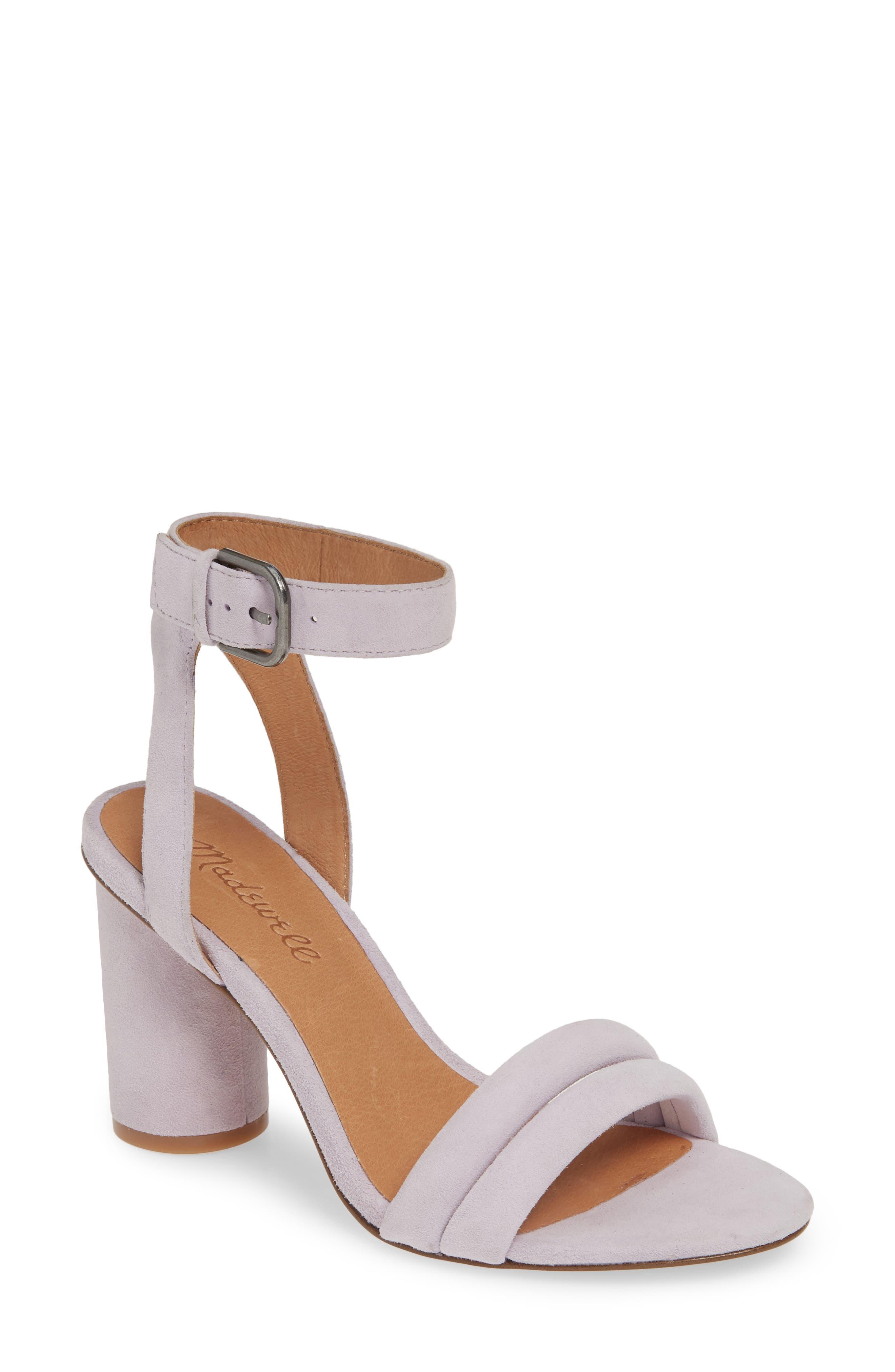 Madewell The Rosalie High Heel Sandal- Purple